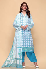 Gul Ahmed 3PC Unstitched Lawn Suit CL-664 A
