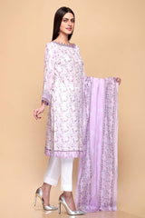 Gul Ahmed 3PC Unstitched Lawn Suit CL-652 B