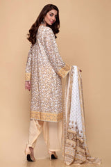 Gul Ahmed 3PC Unstitched Lawn Suit CL-650 A