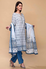 Gul Ahmed 3PC Unstitched Lawn Suit CL-707 A