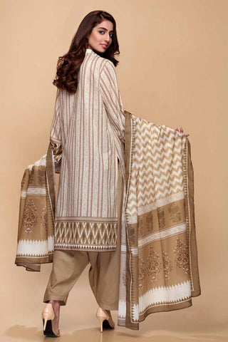 Gul Ahmed 3PC Unstitched Lawn Suit CL-671 A