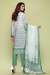 Gul Ahmed 3PC Unstitched Lawn Suit CL-707 B