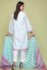 Gul Ahmed 3PC Unstitched Lawn Suit CL-670 B