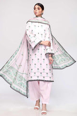 Gul Ahmed 3PC UGul Ahmed nstitched Lawn Suit CL-794 A