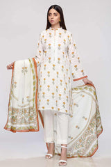 Gul Ahmed 3PC Unstitched Lawn Suit CL-794 B