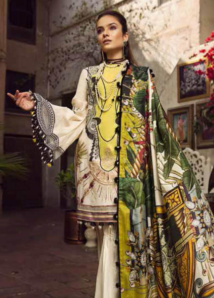 Maryam Hussain MRH19F 01 PARISA - Festive Collection