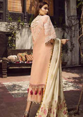 Maryam Hussain MRH19F 02 ROSE - Festive Collection