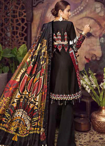 Maryam Hussain MRH19F 05 MIDNIGHT - Festive Collection