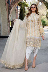 Motifz 2446-MINT-JULIP EMBROIDERED LAWN UNSTITCHED
