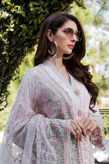 Motifz 2452-POWDER-PINK EMBROIDERED LAWN UNSTITCHED