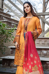 Motifz 2458-TULIP-TREE EMBROIDERED LAWN UNSTITCHED