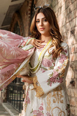 Motifz 2459-SALTPAN EMBROIDERED LAWN UNSTITCHED
