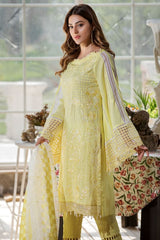 Motifz 2454-DAISY-YELLOW EMBROIDERED LAWN UNSTITCHED
