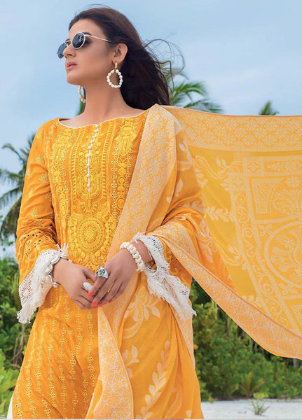 Zainab Chottani Unstitched 3 Piece Suit ZC20LL 12A - Luxury Collection