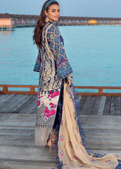 Zainab Chottani Unstitched 3 Piece Suit ZC20LL 2A - Luxury Collection