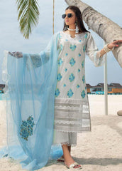 Zainab Chottani Unstitched 3 Piece Suit ZC20LL 3A - Luxury Collection