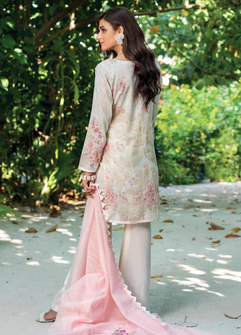 Zainab Chottani Unstitched 3 Piece Suit ZC20LL 3B - Luxury Collection