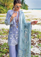 Zainab Chottani Unstitched 3 Piece Suit ZC20LL 9B - Luxury Collection
