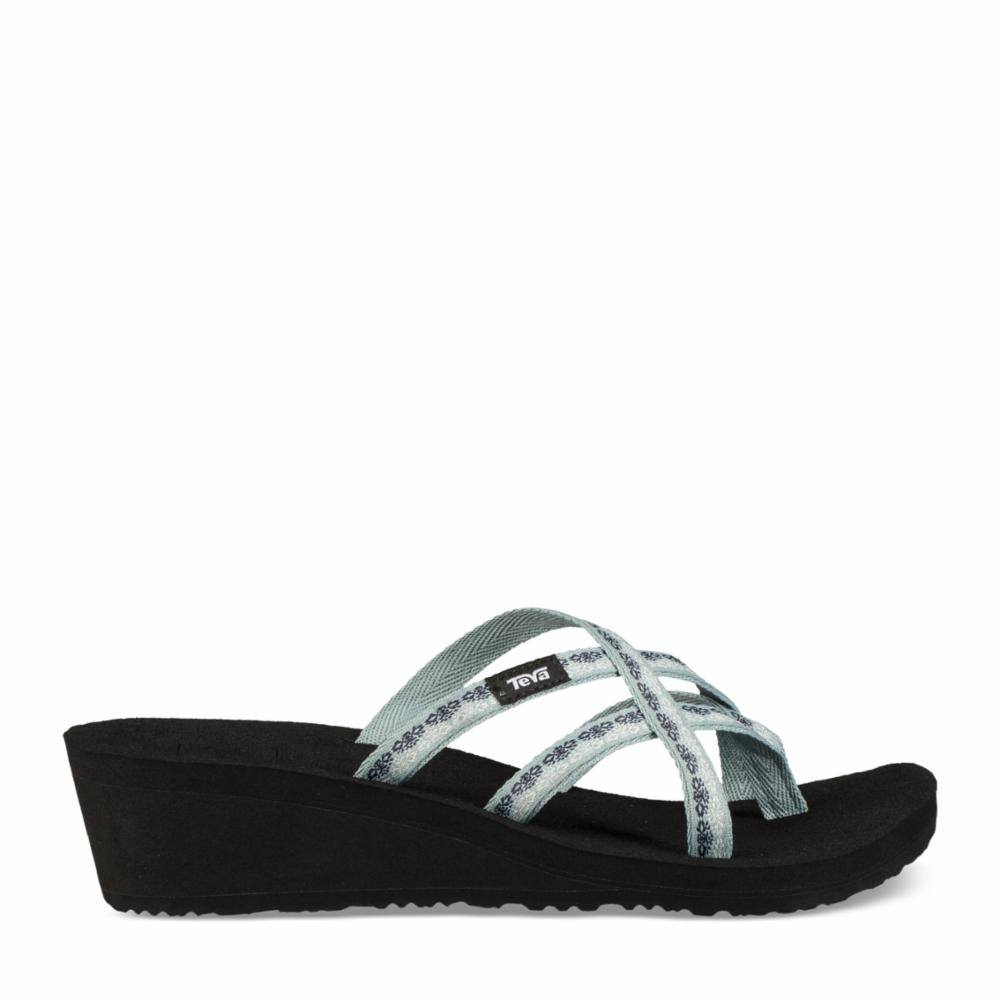 Teva Women MUSH MANDALYN WEDGE OLA 2 CHISOLM GRAY MIST