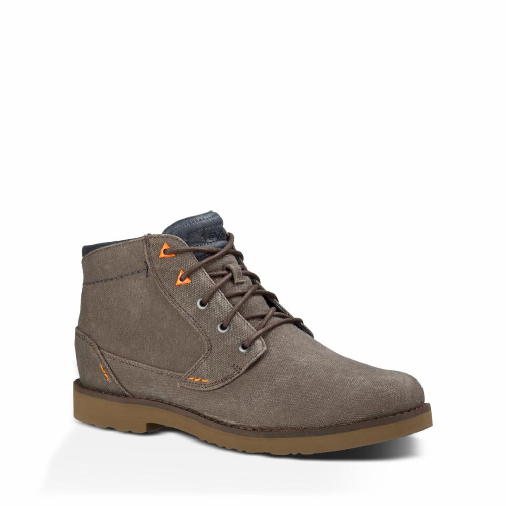 Teva Men DURBAN - WAXED CANVAS TURKISH COFFEE