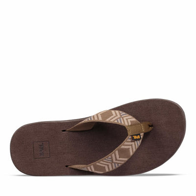 Teva Men VOYA FLIP QUITO DARK OLIVE QDOL