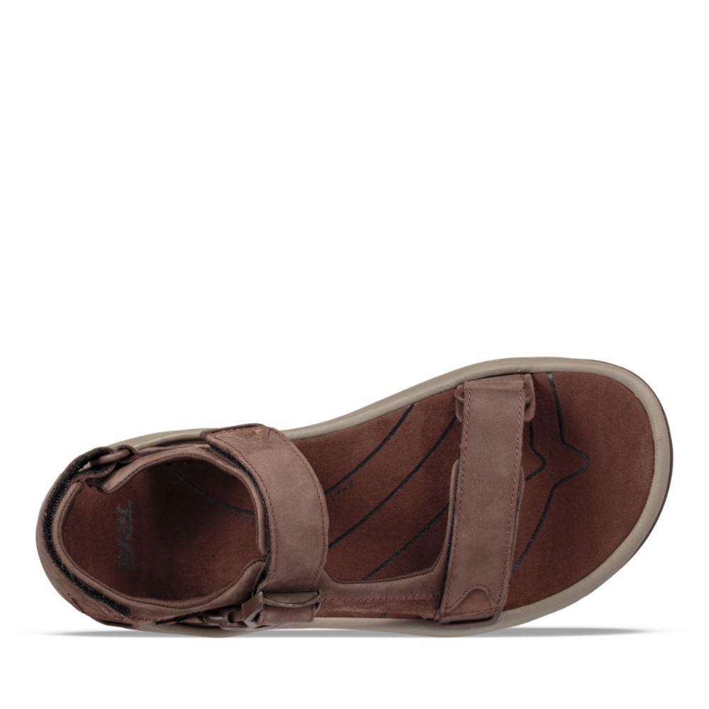 Teva Men TANWAY LEATHER CHOCOLATE BROWN
