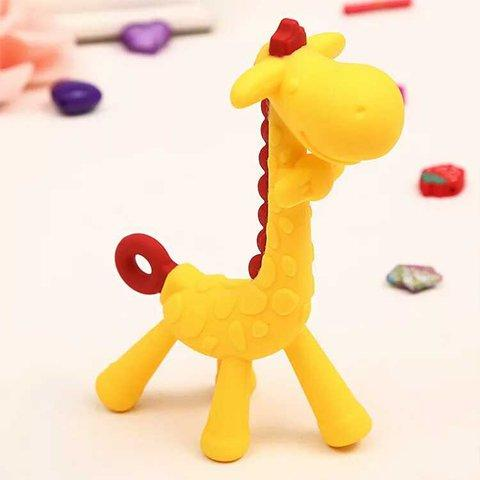 Eazy Kids - Giraffe Teether - Yellow - 2kShopping.com - Grocery | Health | Technology