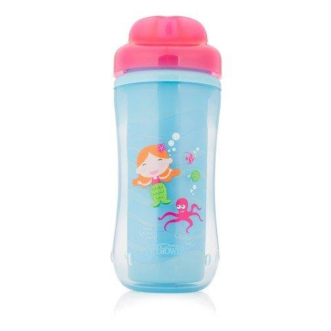 Dr Browns 10 Oz Spoutless Insulated Cup - Mermaid... - 2kShopping.com - Grocery | Health | Technology