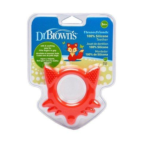 Dr Browns Flexees Friends Fox Teether - 2kShopping.com - Grocery | Health | Technology