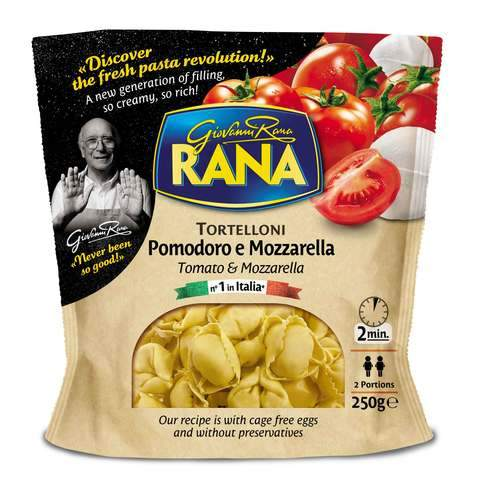 Giovanni Rana Tomato and Mozzarella Tortelloni 250g... - 2kShopping.com - Grocery | Health | Technology