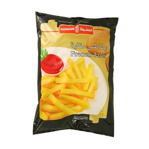 Sunbulah French Fries 2.5kg - 2kShopping - Grocery | Health | Technology