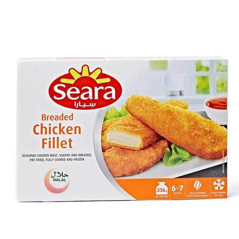 Seara Breaded Chicken Fillet 336g - 2kShopping - Grocery | Health | Technology