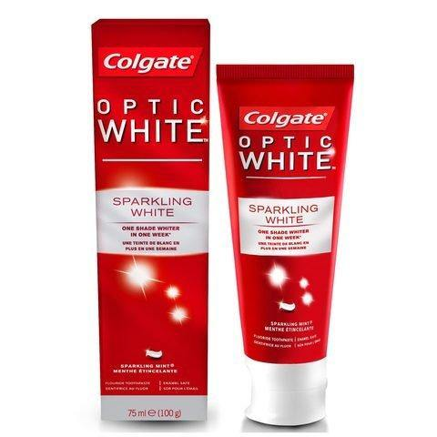 Colgate Optic White Fluoride Toothpaste 103g - 2kShopping.com - Grocery | Health | Technology