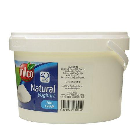 Milco Natural Full Cream yoghurt 3.8kg - 2kShopping.com - Grocery | Health | Technology