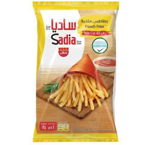 Sadia Thin Cut French Fries 1kg - 2kShopping - Grocery | Health | Technology