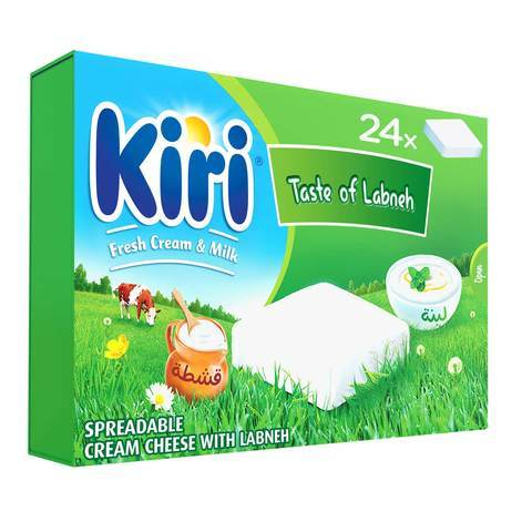 Kiri Spreadable Cream Cheese Squares 24 Portions 432... - 2kShopping.com - Grocery | Health | Technology