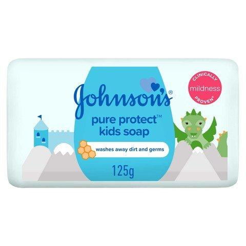 Johnson's Kids Soap Pure Protect 125g... - 2kShopping - Grocery | Health | Technology