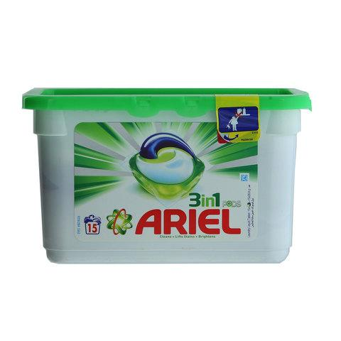Ariel 3 in 1 Laundry Pods 15 Pods - 2kShopping - Grocery | Health | Technology
