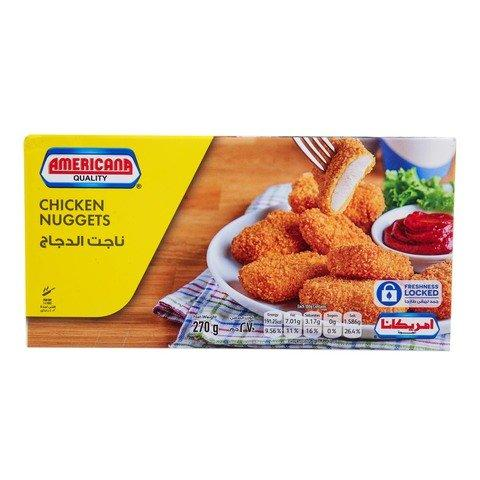 Americana Chicken Nuggets 270g - 2kShopping.com - Grocery | Health | Technology