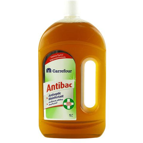 Carrefour Antiseptic Disinfectant Liquid 1L... - 2kShopping - Grocery | Health | Technology