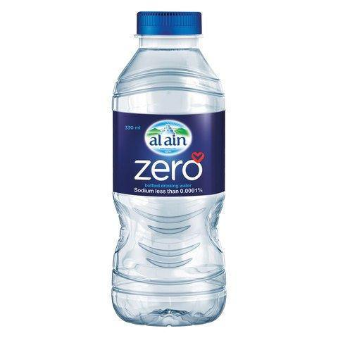 Al Ain Zero Bottled Drinking Water 330ml Pack of 6 - 2kShopping.com - Grocery | Health | Technology