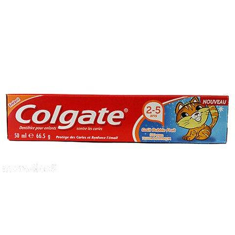 Colgate Junior Toothpaste Bubble Fruit Flavour 50ml - 2kShopping - Grocery | Health | Technology