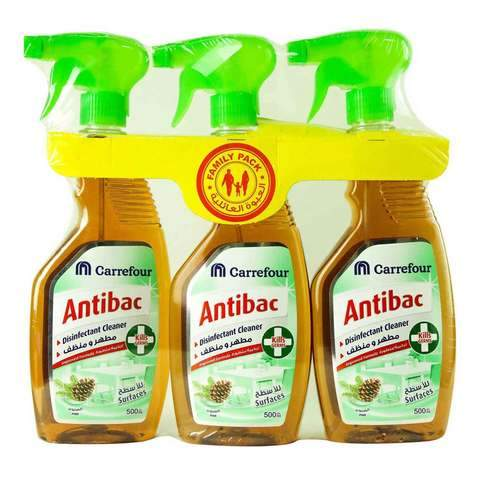 Carrefour Antibac Disinfectant Cleaner Pine 500ml x ... - 2kShopping.com - Grocery | Health | Technology