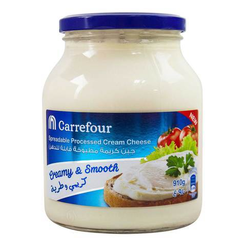 Carrefour Spreadable Processed Cheese Cream 910g - 2kShopping.com - Grocery | Health | Technology