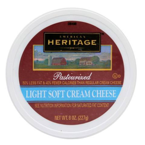 American Heritage Light Soft Cream Cheese 227g - 2kShopping.com - Grocery | Health | Technology