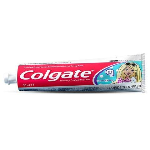 Colgate Barbie Toothpaste for 6 Year Above Kids 50ml - 2kShopping.com - Grocery | Health | Technology