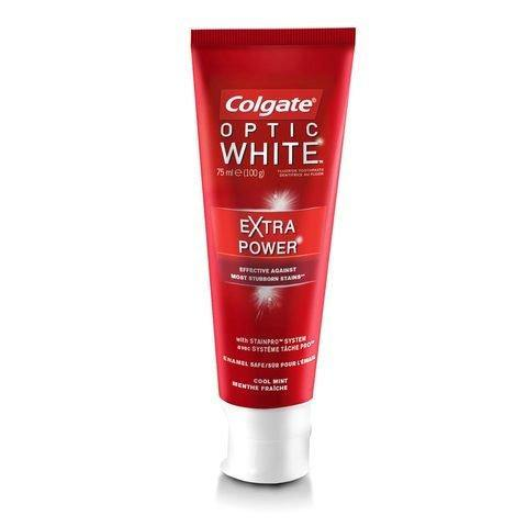 Colgate Optic White Extra Power Fluoride Toothpaste 75ml - 2kShopping.com - Grocery | Health | Technology