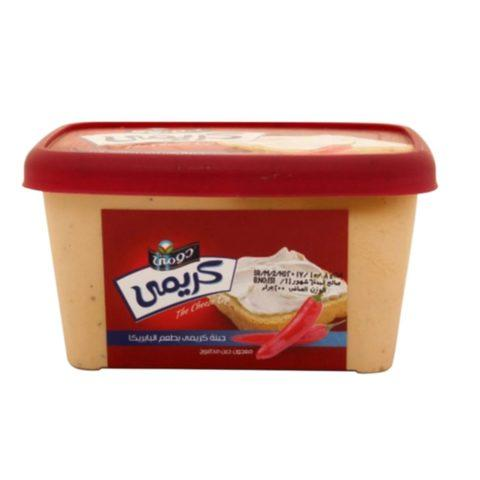 Domty Creamy Cheese with Paprika 400g - 2kShopping.com - Grocery | Health | Technology
