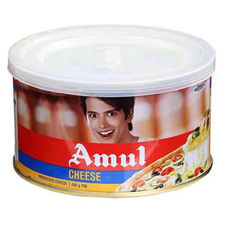 Amul Cheese Tin 400g - 2kShopping.com - Grocery | Health | Technology