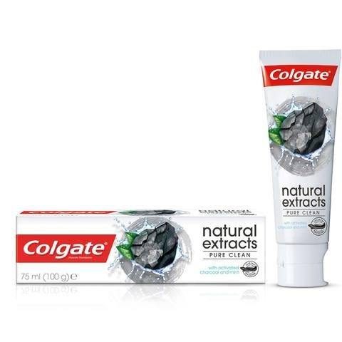 Colgate Natural Extract Charcoal Pure Cleansing Toot... - 2kShopping.com - Grocery | Health | Technology